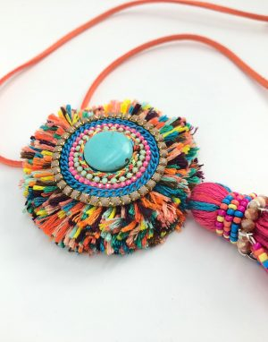 Ibiza Kette bunt close up i miss sophie spring 2018