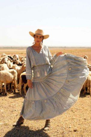 Miss June DRESS BOHEMIAN AMALIA